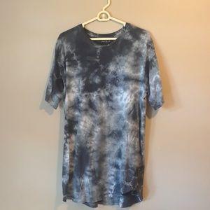 Pacsun black tie dye shirt
